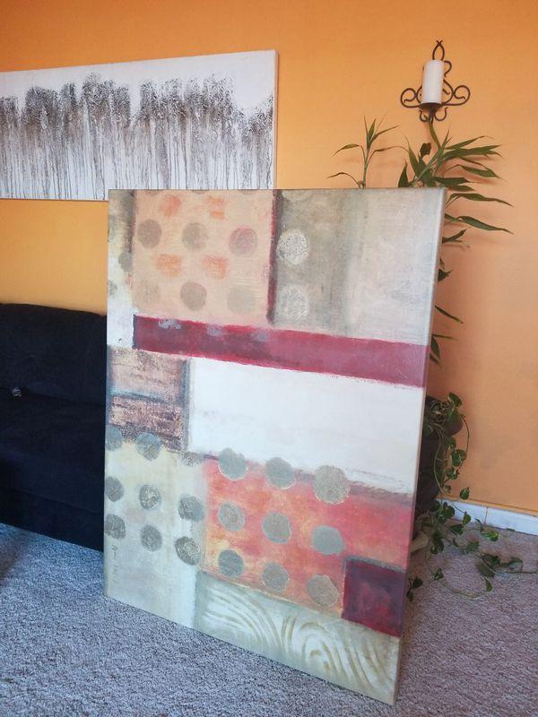 Oversized Canvas Wall Decor