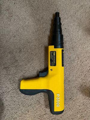 DEWALT P3500 POWDER ACTUATED CONCRETE NAIL GUN BRAND NEW for Sale in Virginia Beach, VA