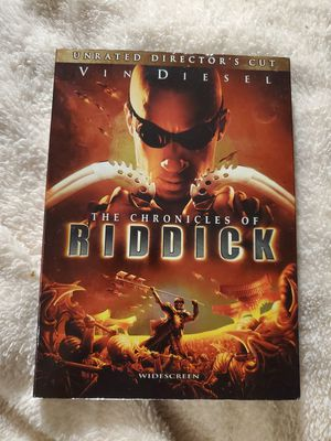 The Chronicles of Riddick DVD for Sale in Richmond, VA