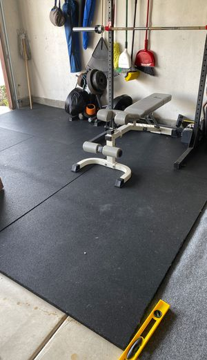 3/4 inch weight lifting mats for Sale in Chula Vista, CA