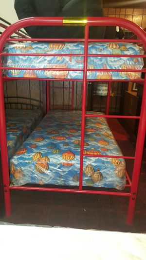 Twin over Twin Bunk Bed with bunkettes for Sale in Phoenix, AZ