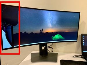 AS IS — Dell UltraSharp WQHD 34 Curved Ultrawide Monitor for Sale in Anaheim, CA