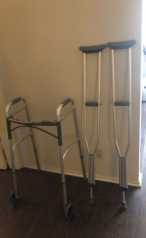 Walker and crutches for Sale in Los Angeles, CA