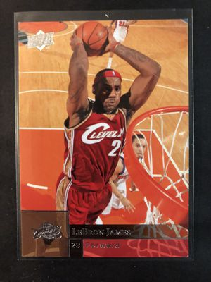 Lebron James 2009 Upper Deck Basketball Card. Lebron James Cleveland Cavaliers Basketball Trading Card for Sale in Chicago, IL