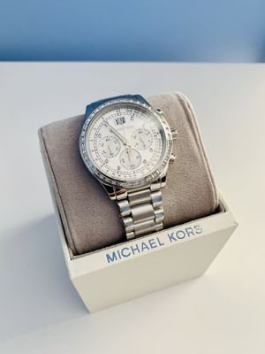 Michael Kors Women's Chronograph Crystal Stainless Steel Watch for Sale in Franconia, VA