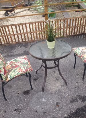 Table and two chairs for Sale in Tampa, FL