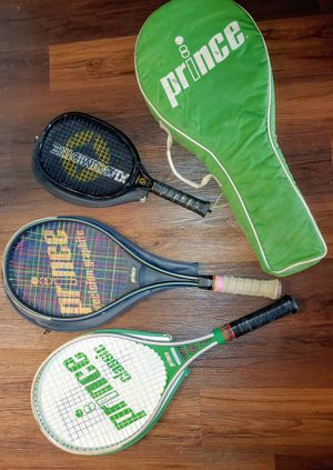 Prince Tennis Rackets (including Graphite) for Sale in Riverview, FL