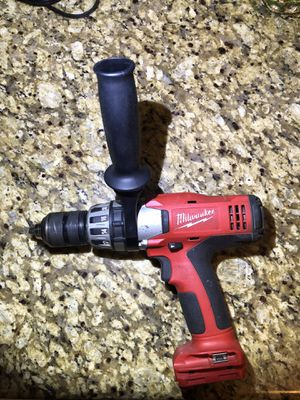 "Milwaukee Cordless Hammer Drill 9824-20 18 Volt Li-Ion ½"" Tool Only - Battery Not Included for Sale in Glendale, CA"