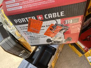 New porter cable router corded $180 for Sale in Boston, MA
