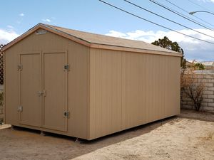10x16 storage shed with double doors $2225 for Sale in Las Vegas, NV