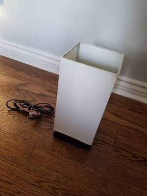 Touch on, desk/night stand lamp for Sale in Wood Dale, IL
