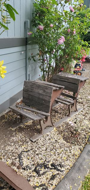 Antique school desk for Sale in Yelm, WA