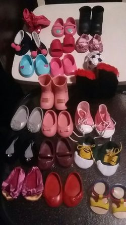 American Girl 18Inch Doll 19 Pairs Shoes Lot for Sale in Costa Mesa,  CA