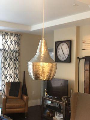 Large hammered pendant light/chandelier for Sale in Rockville, MD