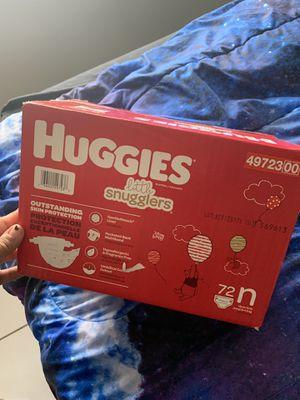 Huggies Little Snugglers Newborn for Sale in Belle Isle, FL