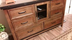 New dresser well built heavy for Sale in Rockwell, NC