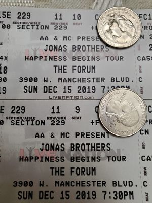 Jonas Brothers at the Forum 12/15 for Sale in Alhambra, CA