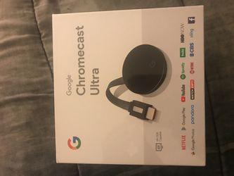 Google chromecast ultra for Sale in Morningside,  MD