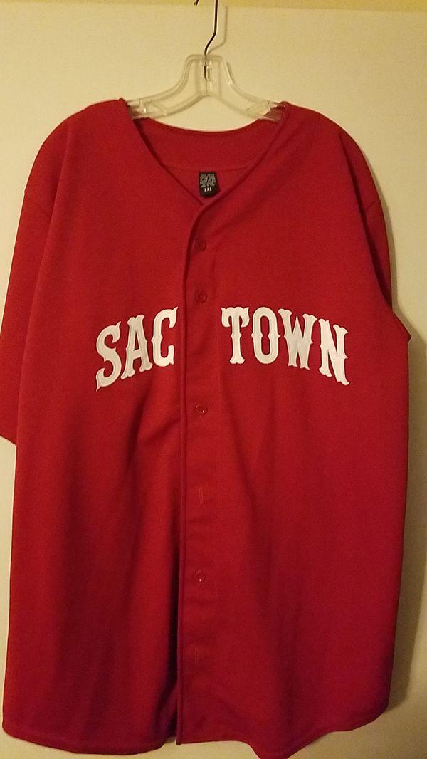 "Custom Sac Town ""916"" Baseball Jersey"