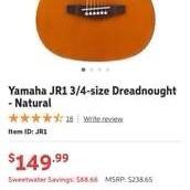 Yamaha JR1 Guitar for Sale in Atlanta, GA