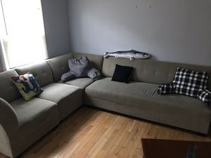 4 piece tan sectional for Sale in Annandale, VA