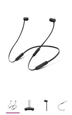 BeatsX Earphones- Black