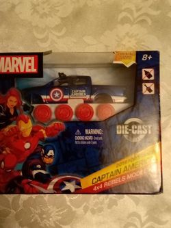 Marvel's Captain America Jeep 4x4 Diecast Model Kit for Sale in Norwich,  CT