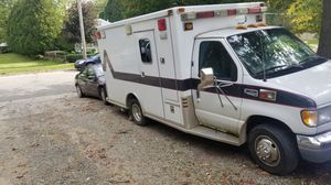 Ford ambulance converted to rolling living room for Sale in Owosso, MI