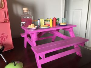 Christmas is coming Camper, picnic table, grill. for Sale in Indianapolis, IN