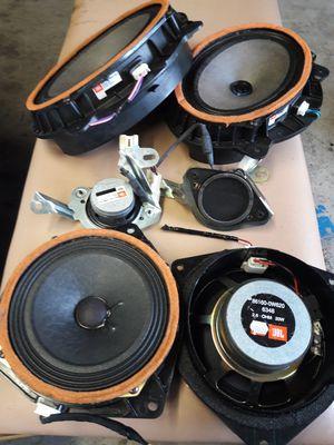 Set speakers Jbl audio oem toyota sr5 4runner for Sale in Tampa, FL