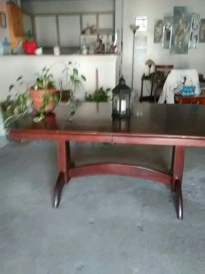 "Solid wood dining table 62"" l 42"" w for Sale in Nashville, TN"