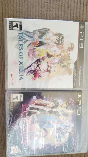 PS3 - TALES OF XILLIA AND TALES OF XILLIA 2 - NEW SEALED for Sale in Lakeland, FL