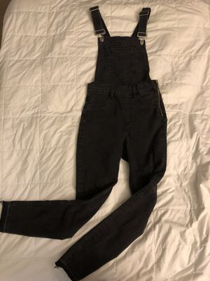 Black Denim Overalls for Sale in Corona, CA