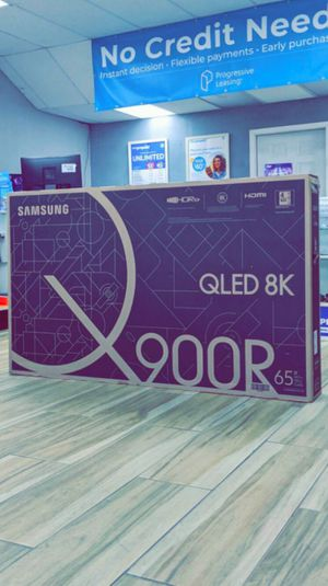Samsung 65 inches - Q900R Series - 4320p - Smart - 8K UHD TV with HDR, Brand New in Box! One Year Warranty! for Sale in Arlington, TX