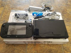 Nintendo Wii U Console and Games Bundle for Sale in Rialto, CA