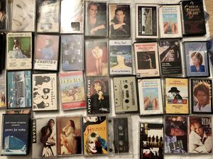 Lots and lots of cassettes easy listening country for Sale in Davie, FL