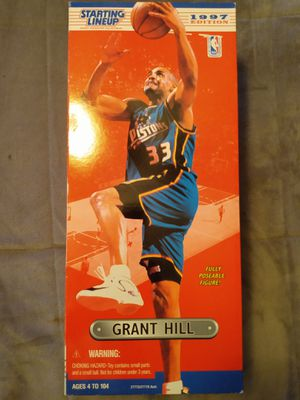 """VINTAGE COLLECTIBLE 1997 STARTING LINE UP 14"""" GRANT HILL ACTION FIGURE for Sale in El Mirage, AZ"""