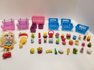 Shopkins lot, doll, baskets for Sale in Riverview, FL