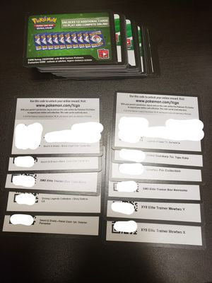 76 Pokemon TCG Card Codes for Sale in Anaheim, CA
