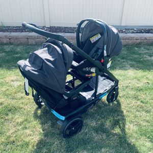 Uno to duo travel system for Sale in Denver, CO