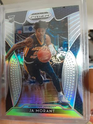 Ja Morant silver prizm Rookie card for Sale in Terrell, TX