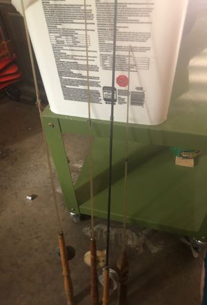 4 nice vintage ice fishing rods for Sale in North Ridgeville, OH