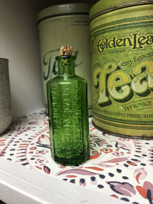 Antique 1852 Green Medicine Bitters Bottle for Sale in Albany, OR
