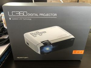 """Projector Apeman 1080p 180"""" Display for Sale in Charlotte, NC"""