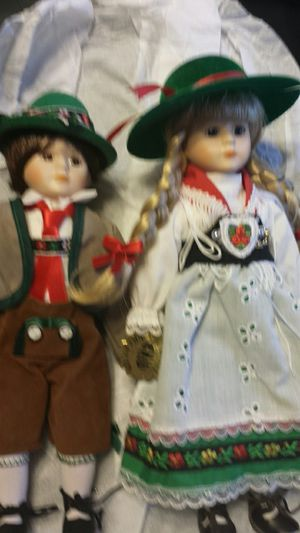 Rare antique traditional dress German dolls for Sale in Pickens, SC