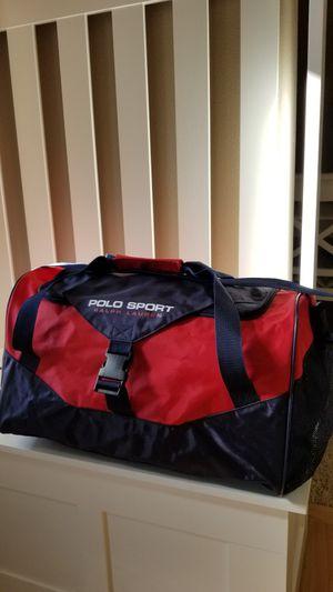 "POLO SPORT RALPH LAUREN duffel bag NEW! 12""H x 20""W x 11""D for Sale in Parkland, WA"