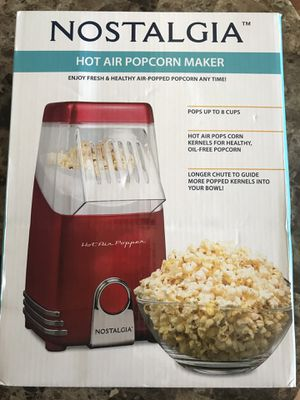 Air Popped Popcorn Maker- New 🍿 for Sale in San Diego, CA