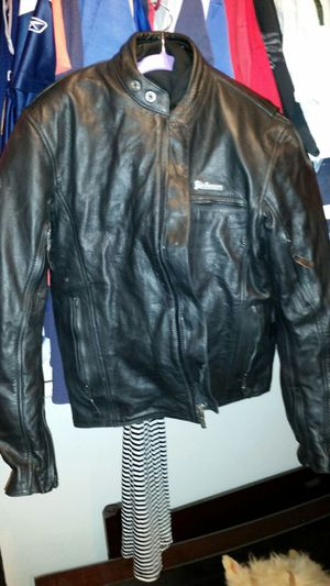 Poker leather riding jacket for Sale in Santee, CA