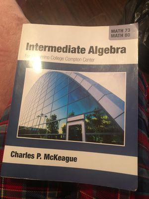 Intermediate algebra for Sale in Los Angeles, CA