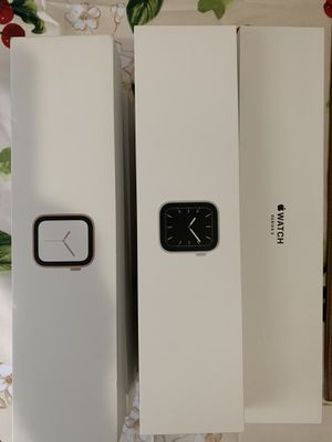 Apple Watch Series 3/4/5 Empty Boxes Only. Excellent Condition. for Sale in Queens, NY